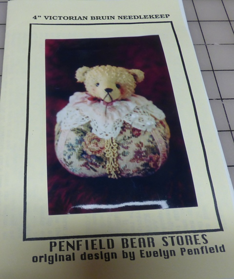 "4"" Victorian Bruin Needlekeep - Click Image to Close"