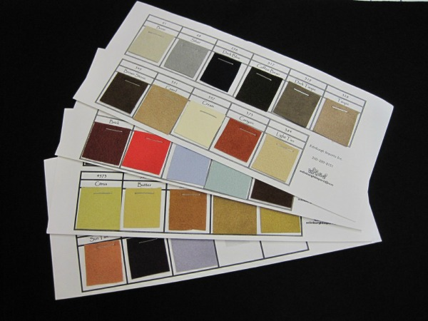 Ultrasuede Color Sample Set