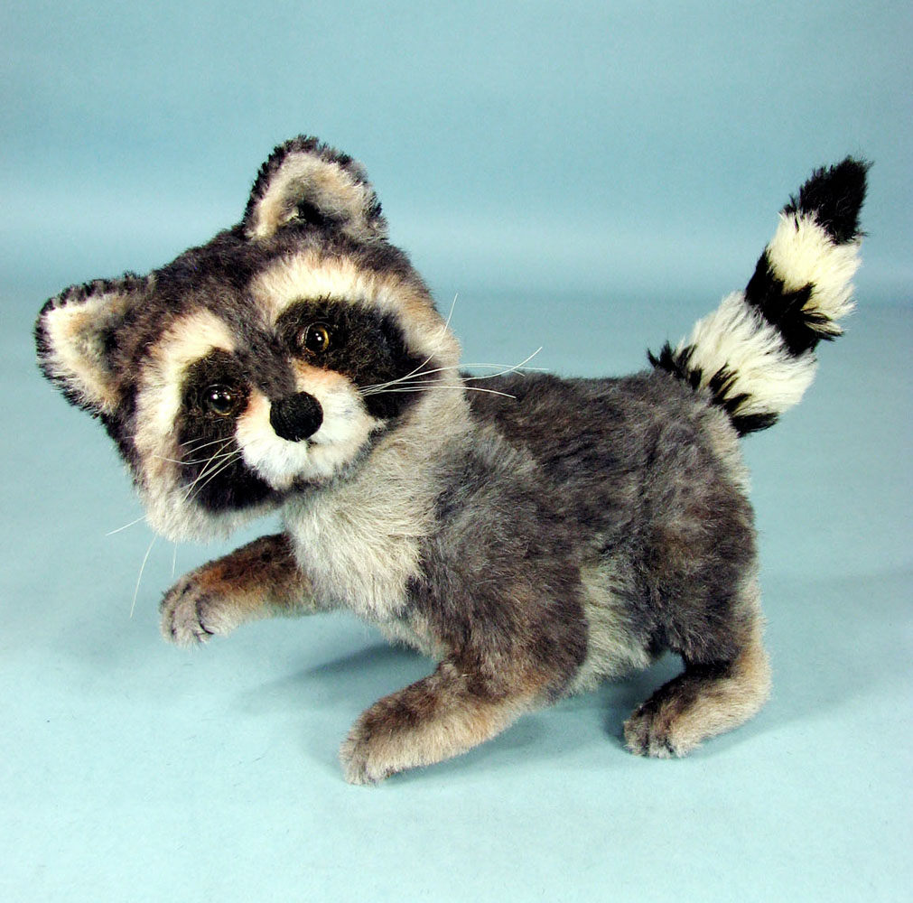 Woody Raccoon - Paper Pattern
