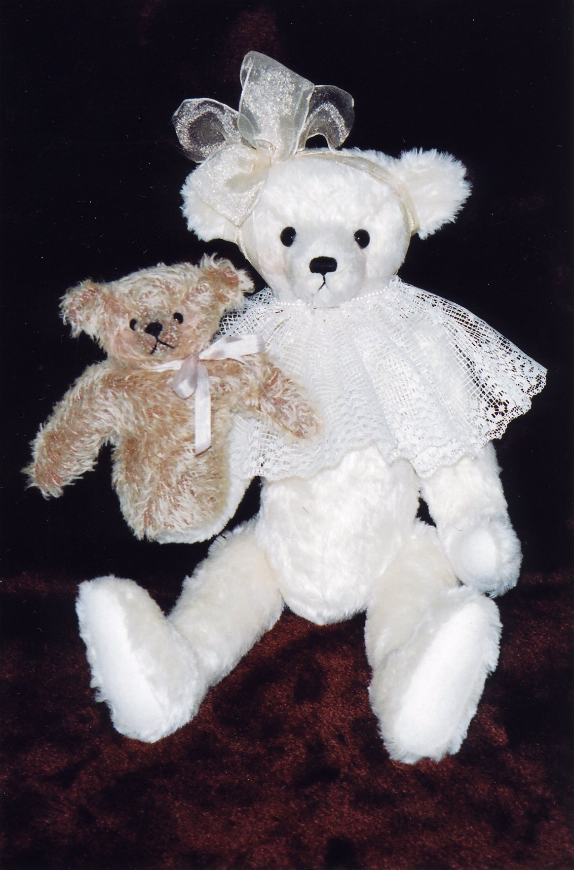 "Bear With Me 17"" Bear & 5"" Bear Puppet"
