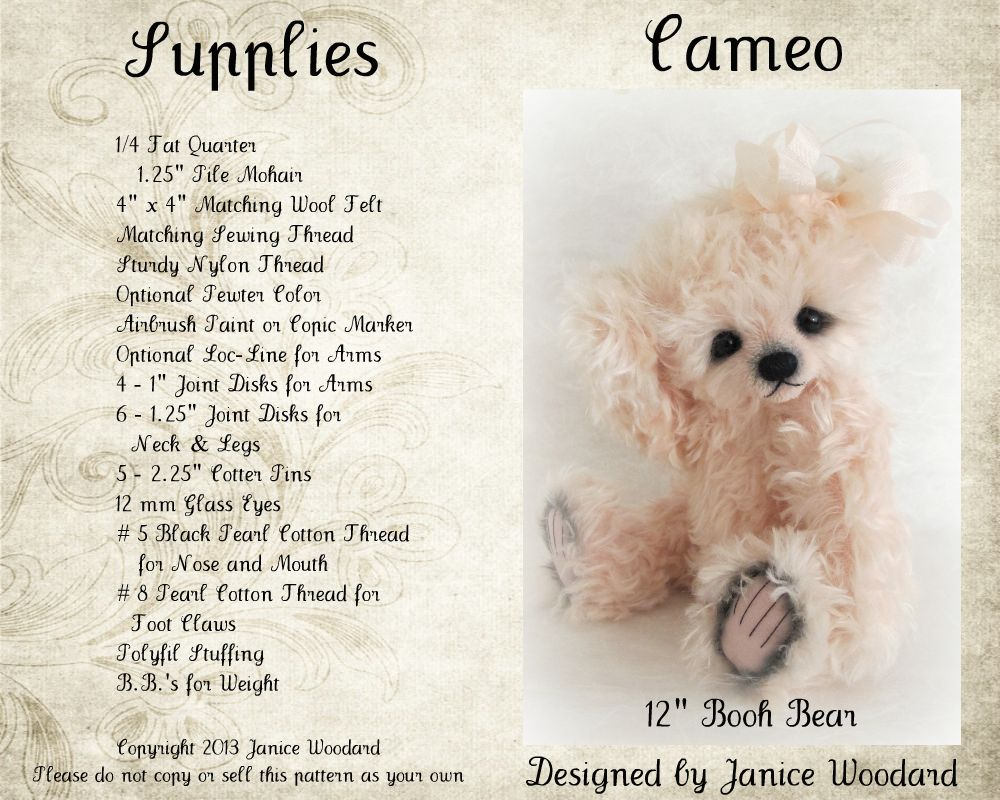 Cameo Digital/PDF by Janice Woodard