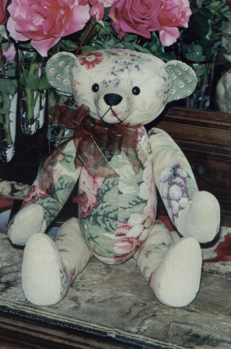 Flore the Fabric Bear 18""
