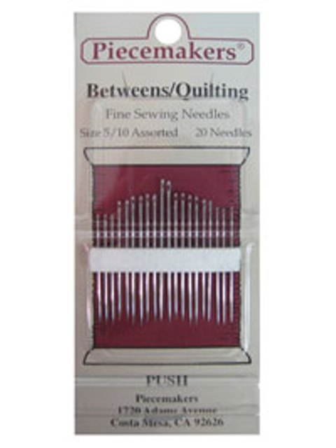 Betweens / Quilting Size 5/10 Assorted