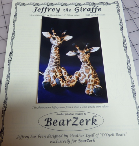 Jeffery the Giraffe