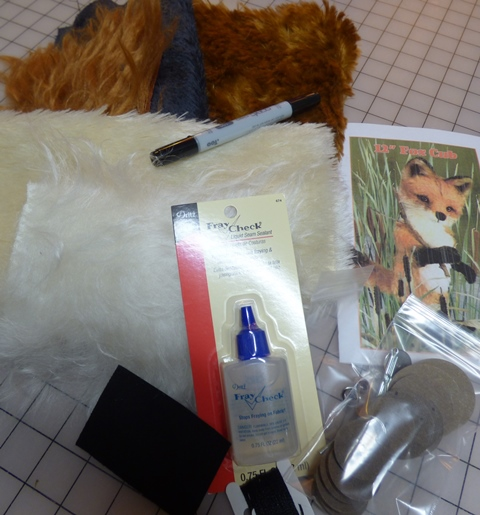 "12"" Fox Cub Kit-Mohair"