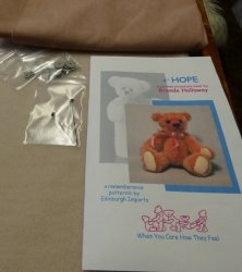 "4"" Hope Bear Alpaca Kiit"