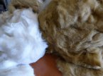 Mohair stuffing