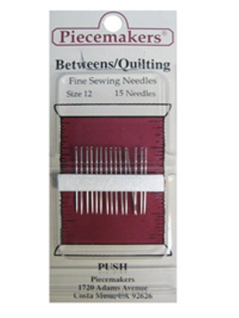 Betweens / Quilting Size 12