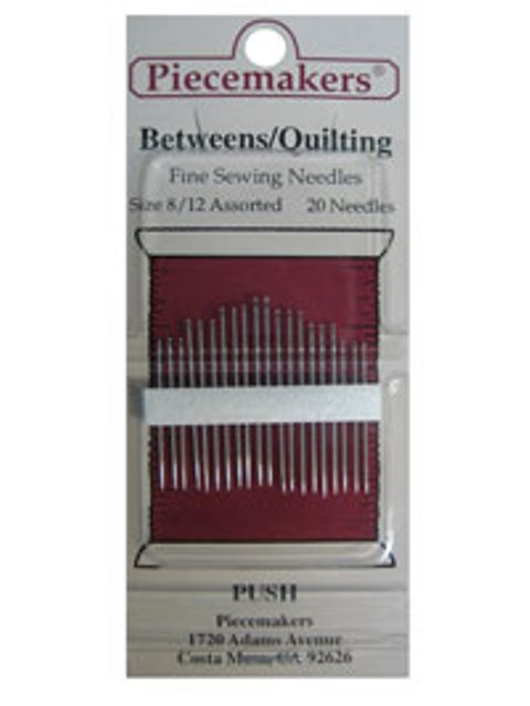Betweens / Quilting Size 8/12 Assorted